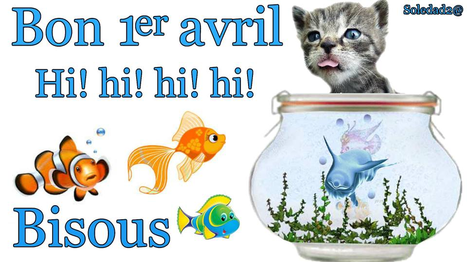 Poisson d 39 avril images photos et illustrations pour facebook - Images poissons d avril ...