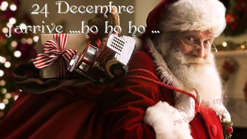 24 Decembre J'arrive... ho ho ho