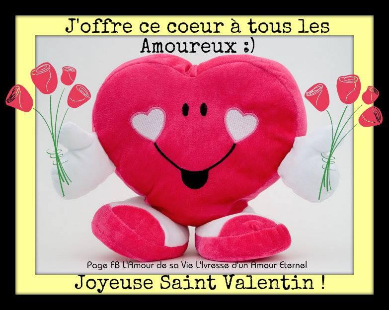 J'offre ce coeur à tous les Amoureux :) Joyeuse Saint Valentin !