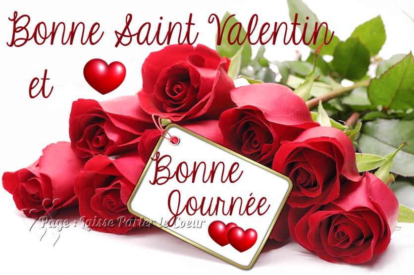 Bonne Saint Valentin et Bonne Journée