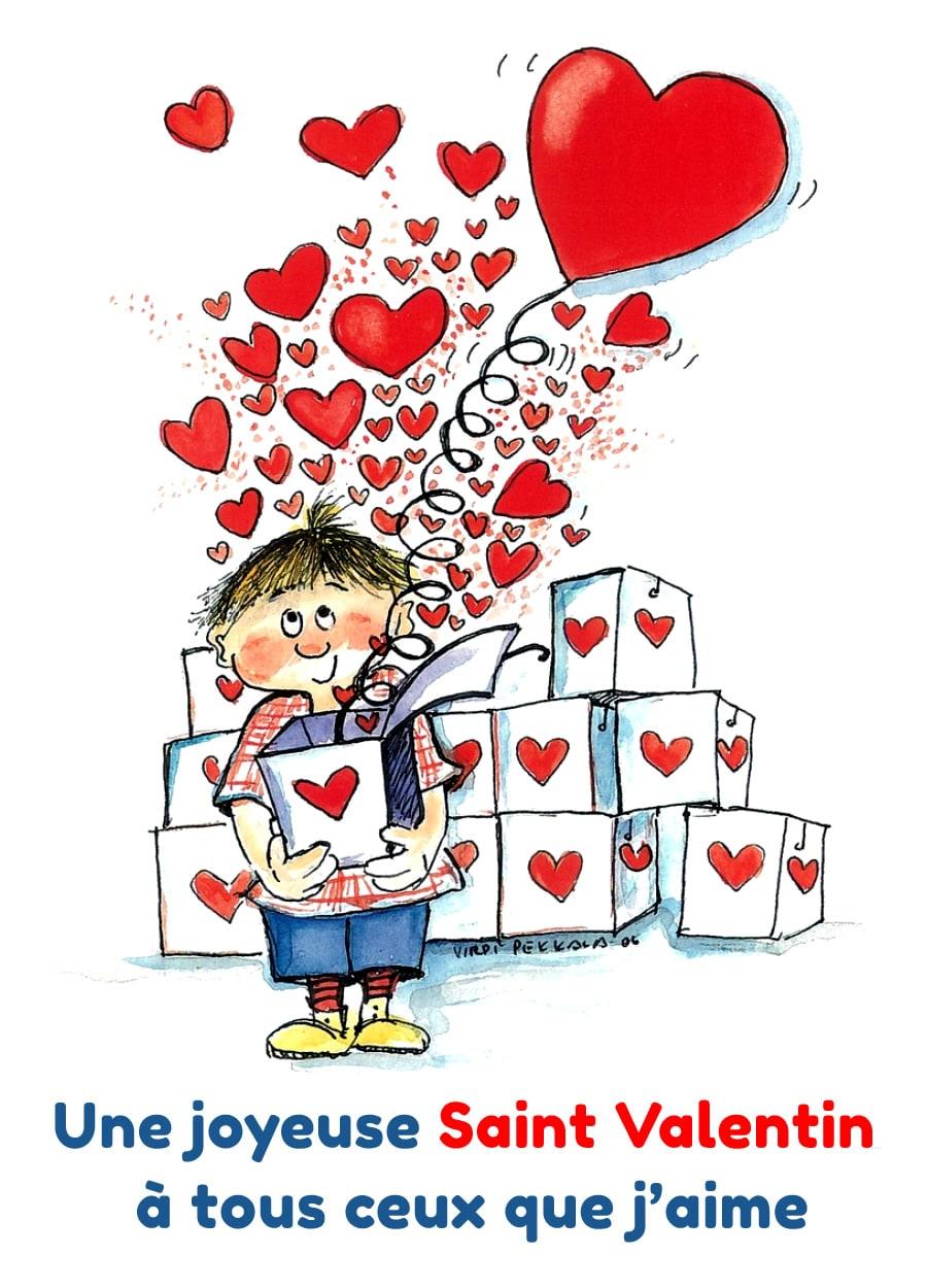 Une joyeuse Saint Valentin à tous ceux...