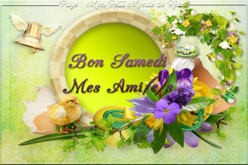 Bon Samedi Mes Ami(e)s