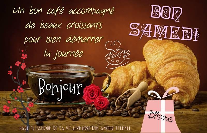 Un bon café accompagné de beaux croissants pour bien...