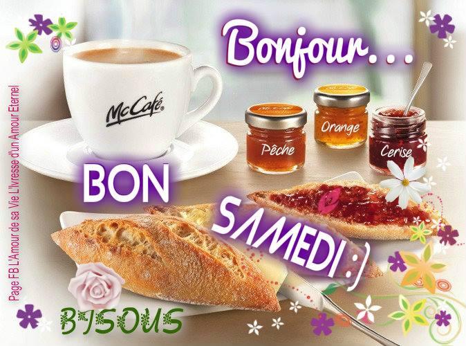 Bonjour... Bon Samedi :) Bisous