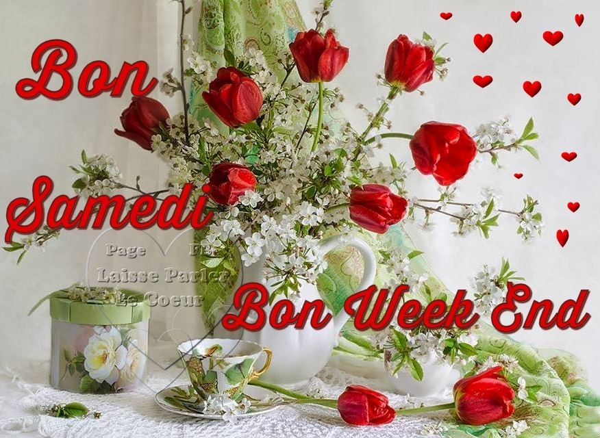 Bon samedi bon week end image 7445 bonnesimages for Bouquet de fleurs humour