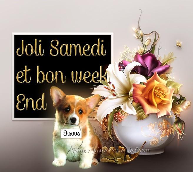 Joli Samedi et bon week-end