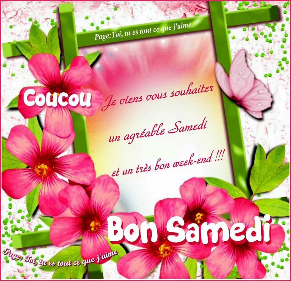ᐅ Samedi images, photos et illustrations pour facebook (Page 2) -  BonnesImages