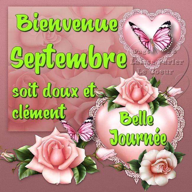 Bienvenue Septembre, soit doux et...