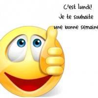 C'est lundi ! Je te souhaite une bonne semaine ! :)