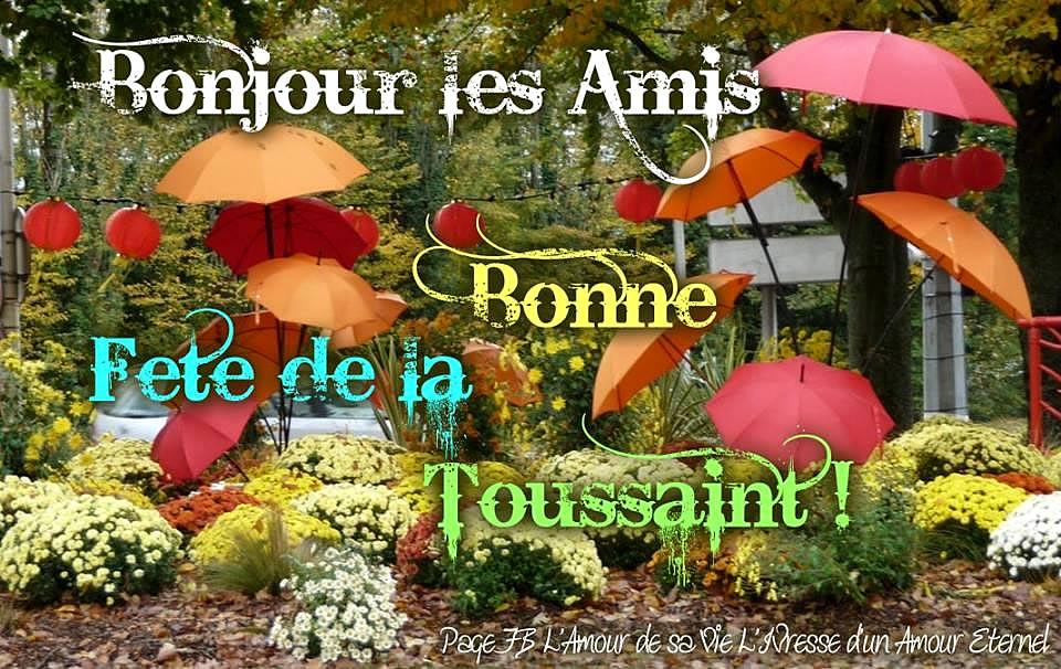 Bonne Fête de la Toussaint !