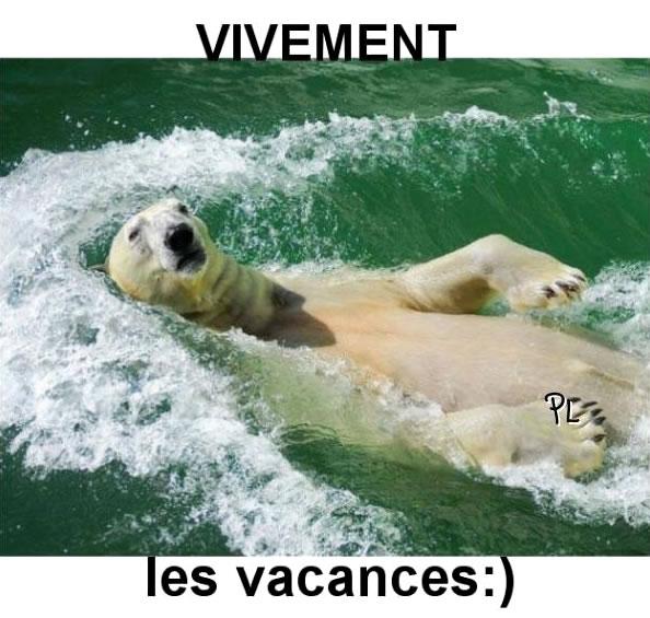 Vivement les vacances :)