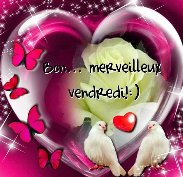 Bon... merveilleux vendredi! :)