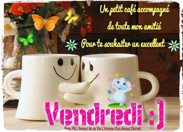 Un petit café accompagné de toute mon amitié...