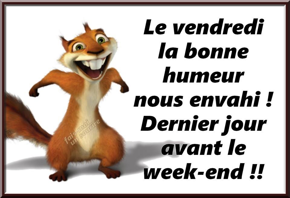 """Résultat de recherche d'images pour """"gif bon vendredi humour"""""""